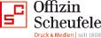 Logo Offizin Scheufele Druck & Medien